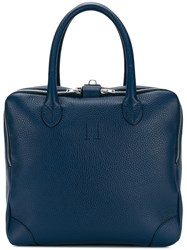 Golden Goose Deluxe Brand Equipage Tote Bag Blue