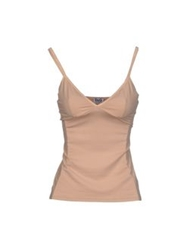 D And G Underwear Sleeveless Undershirts Beige