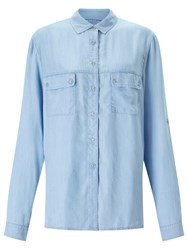 7 For All Mankind Uniform Shirt Light Indigo