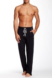 Majestic Knit Lounge Pant Black