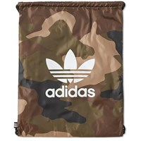 Adidas Camo Gym Sack Green