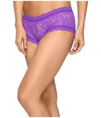Hanky Panky Signature Lace Boyshort Royal Purple Women's Underwear