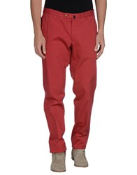 Vigano' Trousers Casual Trousers Men Red