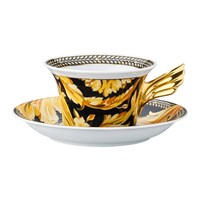 Versace 25Th Anniversary Vanity Teacup And Saucer Limited Edition