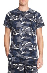 Men's Majestic International Camo Crewneck T Shirt