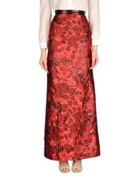 Dsquared2 Skirts Long Skirts Women Garnet