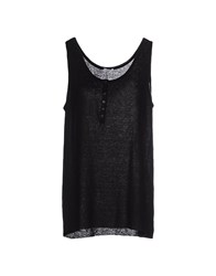 Rossopuro Topwear Vests Women Black