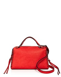 Nasty Gal Whip It Good Satchel Fire Silver