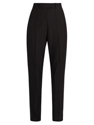 Racil Stones High Rise Slim Leg Trousers Black
