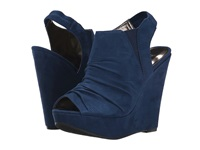 Carlos By Carlos Santana Britton Navy Women's Wedge Shoes