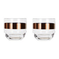 Tom Dixon Tank Whiskey Glass Set Of 2