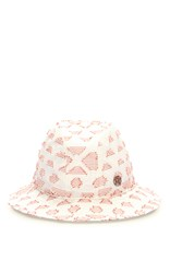 Maison Michel Philip Dart In My Heart Hat White
