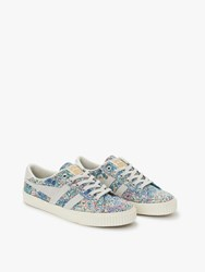 Gola Mark Cox Liberty Lace Up Trainers Blue Multi
