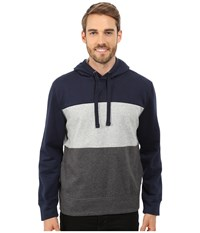 Nautica Cvc Color Block Hoodie Navy Men's Sweatshirt