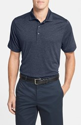 Men's Big And Tall Cutter And Buck 'Chelan' Drytec Moisture Wicking Polo Navy Heather