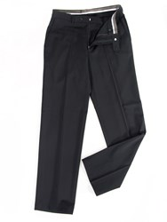 Oscar Jacobson Greg Performance Trousers Jet Black