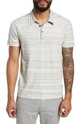 John Varvatos Star Usa Slim Fit Polo Griffin Grey