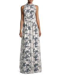 Erin Fetherston Racquel Sleeveless Lace Overlay Gown
