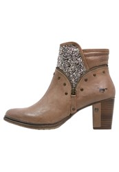 Mustang Ankle Boots Natur Brown