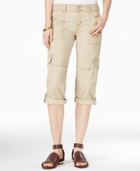 Sanctuary Habitat Cropped Cargo Pants Real Khaki