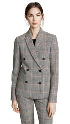 Paul Smith Houndstooth Blazer Orange Houndstooth