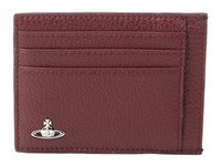 Vivienne Westwood Milano Card Holder Bordeaux