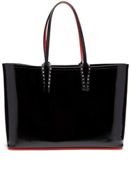 Christian Louboutin Cabata Patent Leather Tote Black
