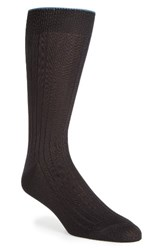 Nordstrom Men's Big And Tall Men's Shop Cotton Blend Socks Navy
