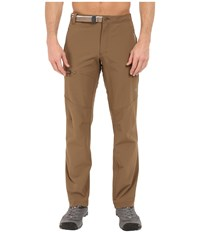 Mountain Hardwear Chockstone Midweight Active Pant Saddle Men's Casual Pants Brown