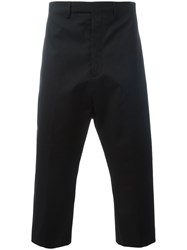 Rick Owens Tailored Pod Shorts Black