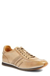 Magnanni Men's 'Cristian' Sneaker Taupe Leather