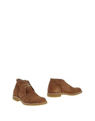 Pantofola D'oro Ankle Boots Camel