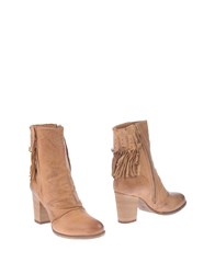 Francesco Morichetti Ankle Boots Brown