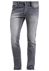 Japan Rags Slim Fit Jeans Grey Grey Denim