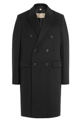 Burberry London Wool Coat With Cashmere Black