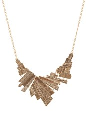 Only Onlsquara Necklace Goldcoloured