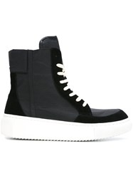 D.Gnak Hi Top Sneakers Black