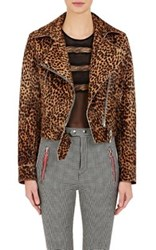 Isabel Marant Women's Eston Moto Jacket Brown