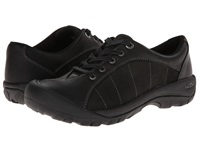 Keen Presidio Black Magnet Women's Lace Up Casual Shoes Silver