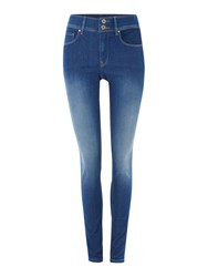 Salsa Secret Push In Skinny Jeans Denim Mid Wash
