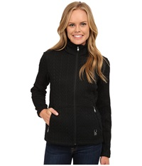 Spyder Major Cable Core Sweater Black Women's Sweater