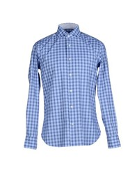 Borsa Shirts Shirts Men Blue
