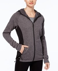 Ideology Hooded Jacket Created For Macy's Charcoal Heather