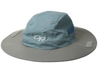 Outdoor Research Seattle Sun Sombrero Shade Pewter Knit Hats Blue
