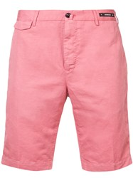 Pt01 Classic Chino Shorts Pink And Purple