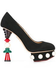 Charlotte Olympia 'Amped Up Dolly' Pumps Black
