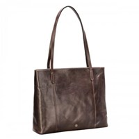 Maxwell Scott Bags Brown Leather Shopper