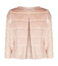 Ted Baker Fabunni Cropped Faux Fur Jacket Female