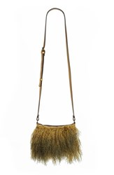 Patricia Nash Small Paulo Genuine Shearling Crossbody Bag