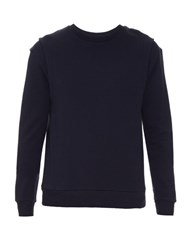 Public School Felix Cotton Sweatshirt Navy